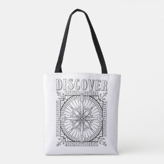 OrnaMENTALs Explore and Discover Colour Your Own Tote Bag