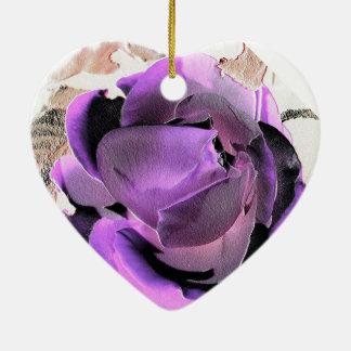 Ornamentation rose purple