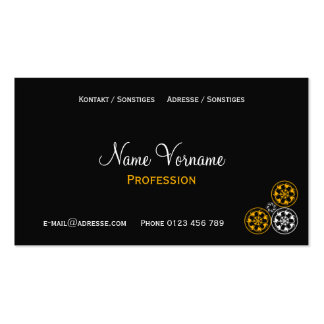 Ornamentations Pack Of Standard Business Cards