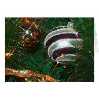 Ornaments  - Christmas Card
