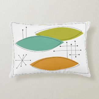 Ornaments Mid Century Modern Decorative Pillow