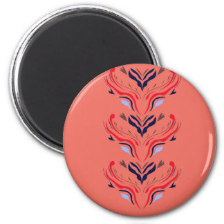 Ornaments orient orange magnet