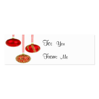 Ornaments Pack Of Skinny Business Cards