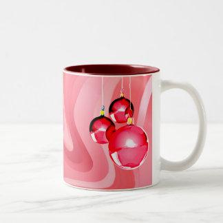 ORNAMENTS & RIBBONS by SHARON SHARPE Coffee Mug