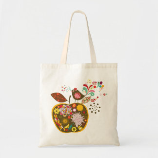 Ornate Apple Tote Bag