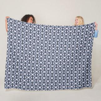 Ornate Arabian Silk Star Pattern Fleece Blanket