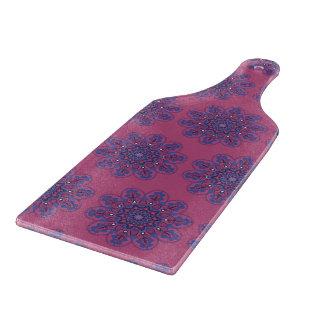 Ornate Boho Mandala Cutting Board