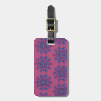 Ornate Boho Mandala Luggage Tag