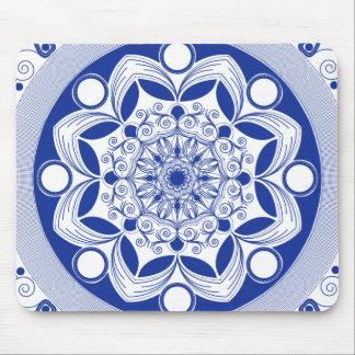 Ornate Boho Mandala Mouse Pad