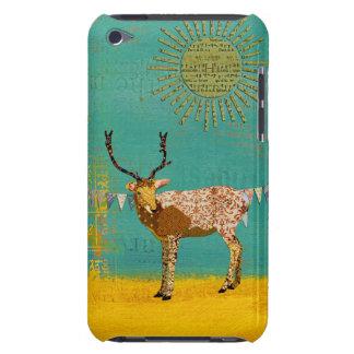 Ornate Bronze Buck Sunshine Teal iPod Case iPod Touch Case-Mate Case