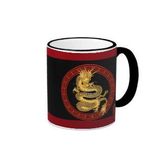 Ornate Chinese Year of the Dragon Mug
