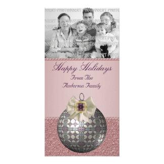 Ornate Christmas Photo Cards