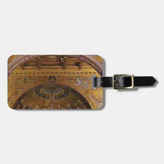 ornate church inside luggage tag