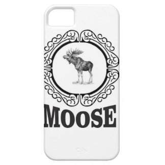 ornate circle moose barely there iPhone 5 case