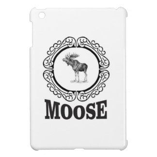 ornate circle moose cover for the iPad mini