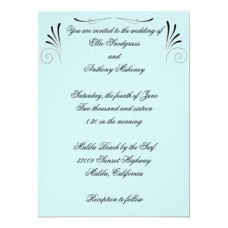Ornate Design Wedding Invitation