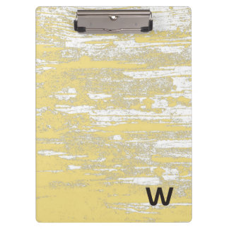 Ornate Elephant Turquoise Stripped Personalized Clipboards
