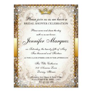 Ornate Fairytale Storybook Bridal Shower Invitatio 11 Cm X 14 Cm Invitation Card