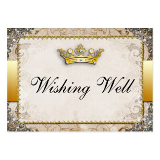 Ornate Fairytale Storybook Wishing Well Cards Pack Of Chubby Business Cards