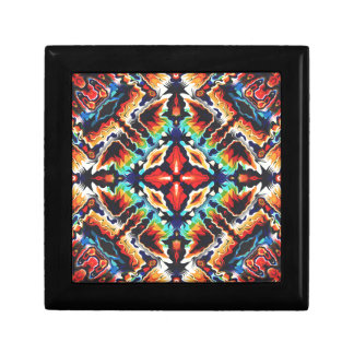 Ornate Geometric Colors Gift Box