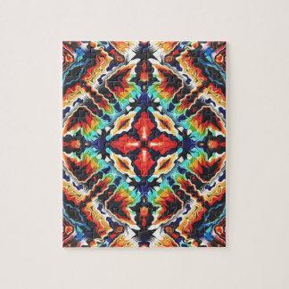 Ornate Geometric Colors Jigsaw Puzzle