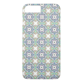 Ornate Green And Purple Pattern iPhone 7 Plus Case