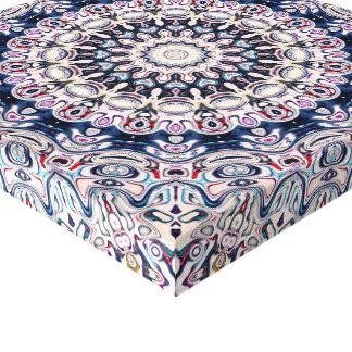 Ornate Mandala Pattern Canvas Print