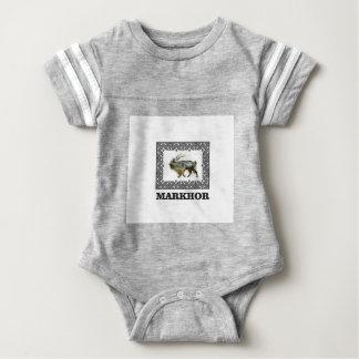 Ornate Markhor frame Baby Bodysuit