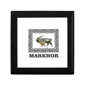 Ornate Markhor frame Gift Box