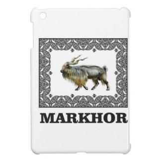 Ornate Markhor frame iPad Mini Case