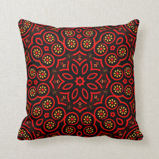 Ornate Middle Eastern Medallion 4 Throw Pillow