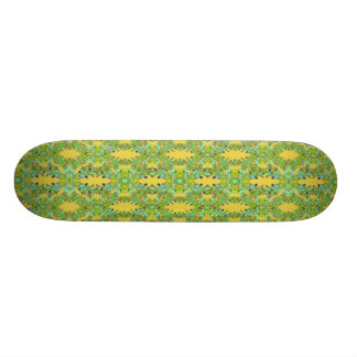 Ornate Modern Noveau 21.3 Cm Mini Skateboard Deck