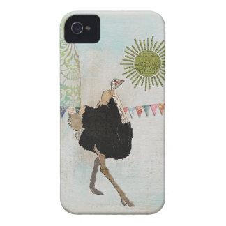 Ornate Ostrich Sunshine Case Case-Mate iPhone 4 Cases