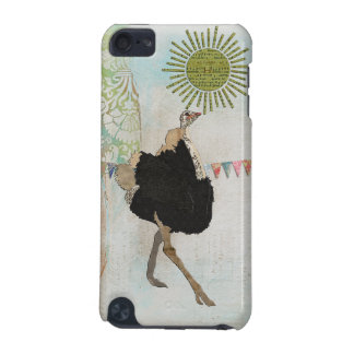 Ornate Ostrich Sunshine iPod Case iPod Touch (5th Generation) Cover