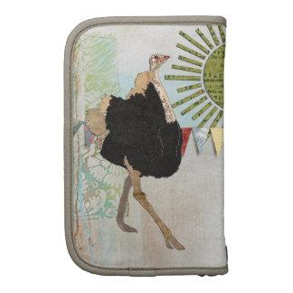 Ornate Ostrich Sunshine Planner/  Rickshaw