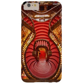 Ornate red stairway, Portugal Barely There iPhone 6 Plus Case