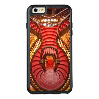 Ornate red stairway, Portugal OtterBox iPhone 6/6s Plus Case
