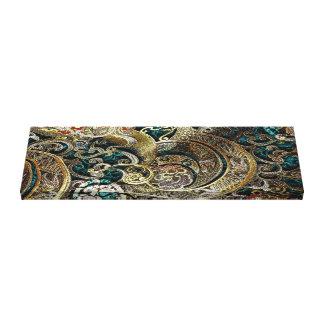 Ornate Silk Crests Canvas Print