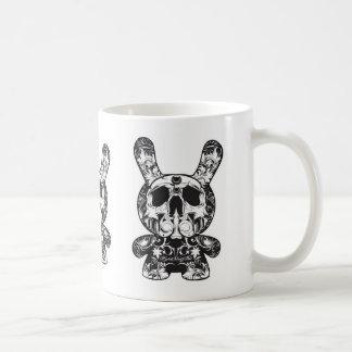 Ornate Skeleton Bunny Mug