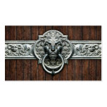 Ornate Vintage doorknocker #1D general purpose Double-Sided Standard Business Cards (Pack Of 100)