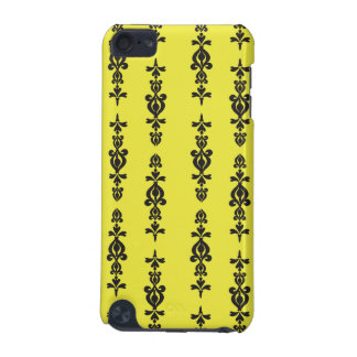 ornate wallpaper pattern black and heel iPod touch 5G case
