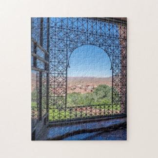 Ornate Window Decoration Jigsaw Puzzle