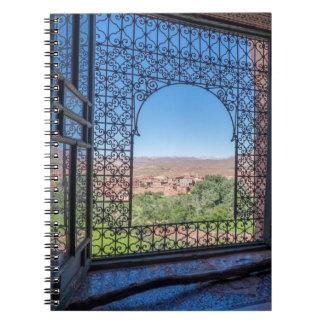 Ornate Window Decoration Notebook