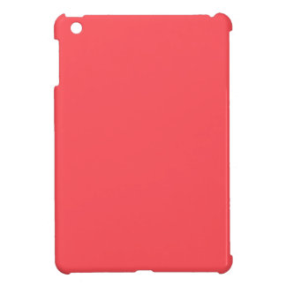 Ornately Sculptured Coral Color iPad Mini Case