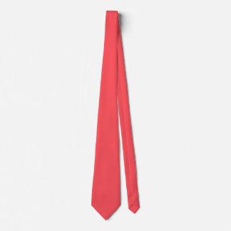 Ornately Sculptured Coral Color Tie