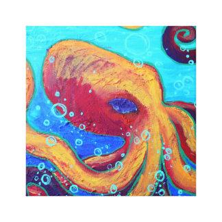 Ornery Octopus Wall Art