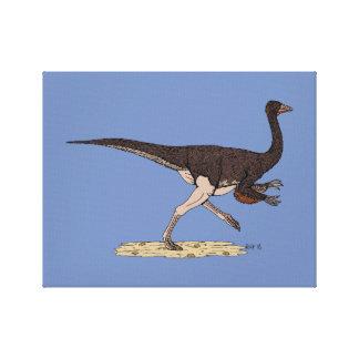 Ornithomimus Canvas Print