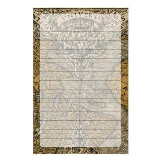 Oronce Fine 1531 Map Stationery