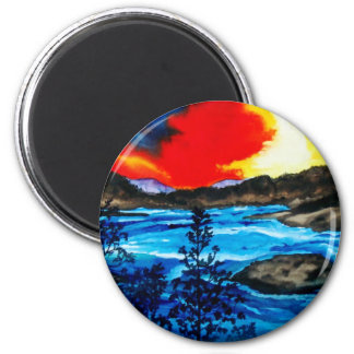 Oroville Colors Magnet