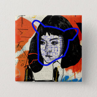 Orphan Black | Abstract MK Clone - Project Leda 15 Cm Square Badge